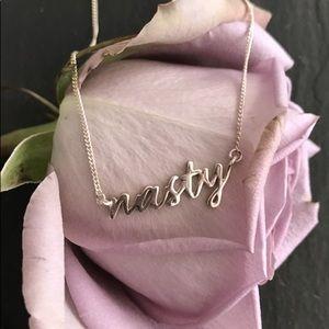Capsul Jewelry Nasty Woman Feminist Necklace